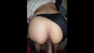Wild Latina Rear End't Forestall Jizzing